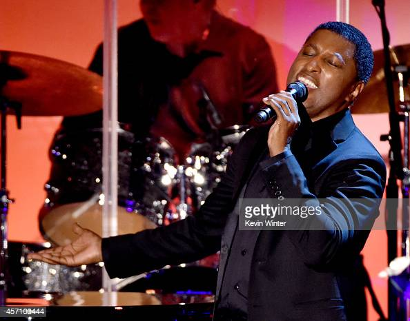 Musician/producer Kenny 'Babyface' Edmonds performs at the Carousel of Hope Ball presented by MercedesBenz at the Beverly Hilton Hotel on October 11...