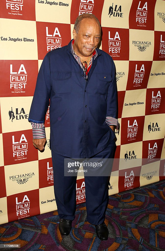 Musician/producer Quincy Jones attends A Conversation: Remembering Sidney Lumet during the 2011 Los Angeles Film Festival held at Regal Cinemas L.A. LIVE on June 21, 2011 in Los Angeles, California.