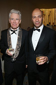 Musicians Adam Clayton and Tom Morello attend the Sixth Biennial UNICEF Ball Honoring David Beckham and C L Max Nikias presented by Louis Vuitton at...