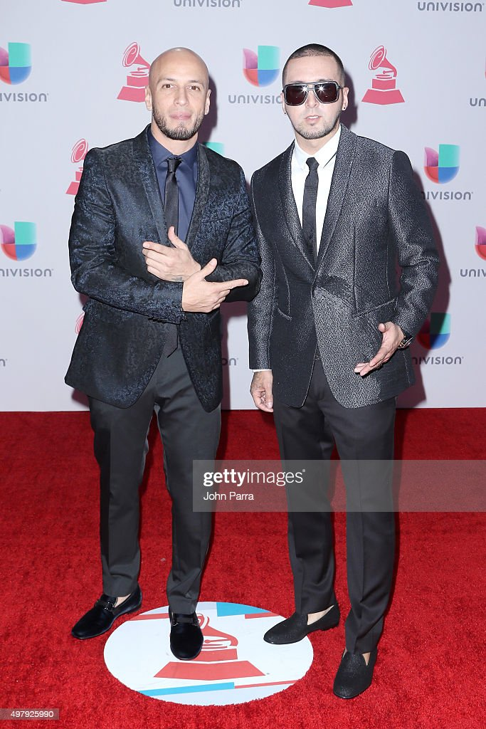 Musicians Alexis & Fido attend the 16th Latin GRAMMY Awards at the MGM Grand Garden Arena on November 19, 2015 in Las Vegas, Nevada.