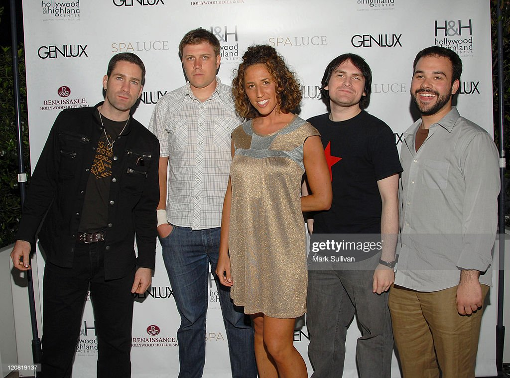 Musicians Ashley 1st attend the unveiling of Spa Luce at Hollywood & Highland on May 1, 2008 in Hollywood, California.