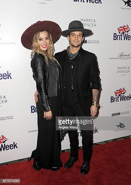 Musicians BC Jean and Mark Ballas of Alexander Jean attend BritWeek's 10th Anniversary VIP Reception Gala at Fairmont Hotel on May 1 2016 in Los...