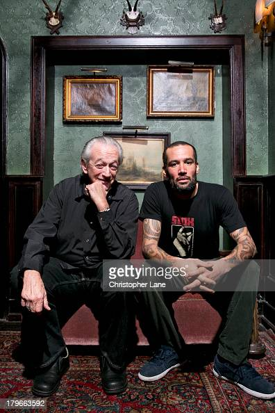Musicians Ben Harper and Charlie Musselwhite are photographed for Paris Match on January 29 2013 in New York City