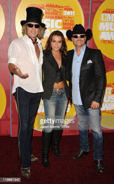 Musicians Big Kenny Gretchen Wilson and John Rich attends the 2011 CMT Music Awards at the Bridgestone Arena on June 8 2011 in Nashville Tennessee