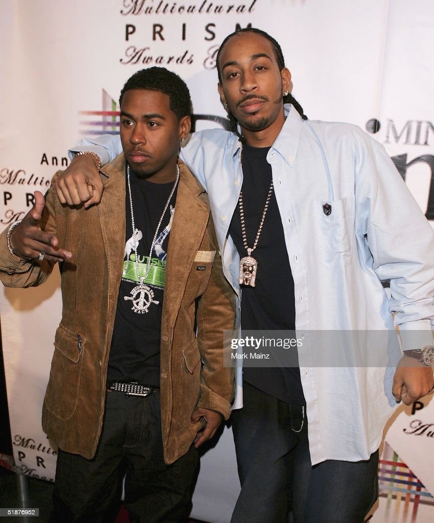 Musicians Bobby V and Ludacris attend the '9th Annual Multicultural Prism Awards' at The Henry Fonda Music Box on December 17, 2004 in Hollywood, California.