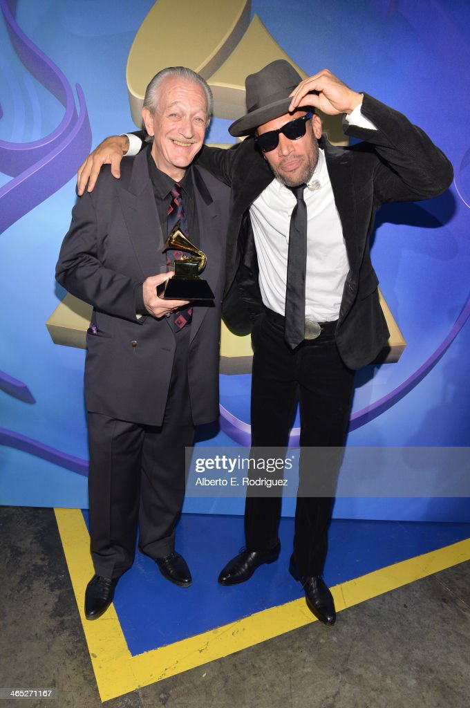Musicians <a gi-track='captionPersonalityLinkClicked' href=/galleries/search?phrase=Charlie+Musselwhite&family=editorial&specificpeople=4304064 ng-click='$event.stopPropagation()'>Charlie Musselwhite</a> and <a gi-track='captionPersonalityLinkClicked' href=/galleries/search?phrase=Ben+Harper&family=editorial&specificpeople=206209 ng-click='$event.stopPropagation()'>Ben Harper</a> onstage during the 56th GRAMMY Awards Pre-Telecast at Nokia Theatre L.A. Live on January 26, 2014 in Los Angeles, California.