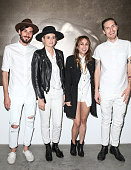 Musicians Chris Null Emily Armstrong Siouxsie Medley Sean Friday of band Dead Sara attend 'Metallic Life' by Brian Bowen Smith brought to you by...