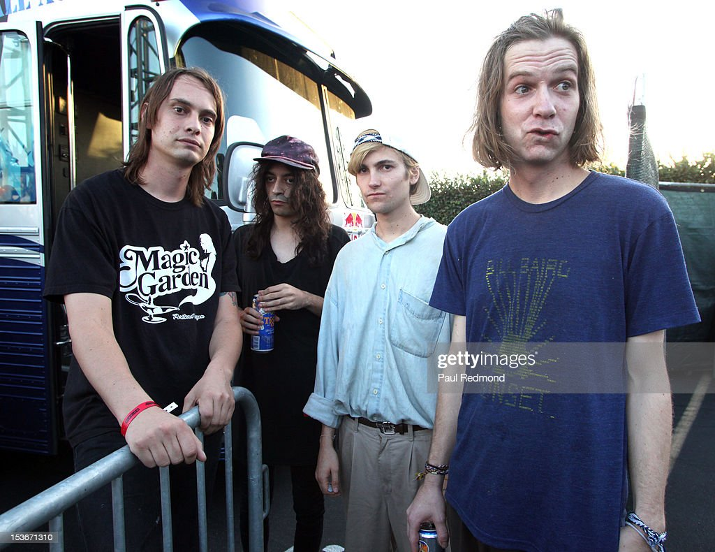 Musicians Colby Hewitt Devin Ruben Perez Zachary Cole Smith and Andrew Bailey of the band DIIV at the 3rd Annual Filter Magazine Culture Collide 2012...