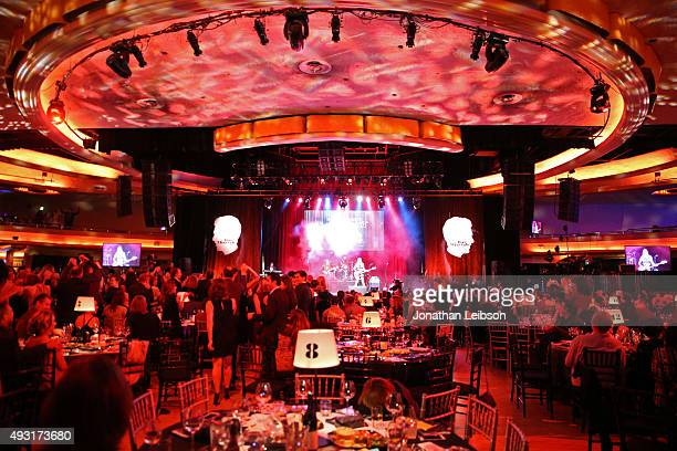 Musicians Danielle Haim Alana Haim and Este Haim of the music group HAIM perform onstage during Hilarity for Charity's annual variety show James...
