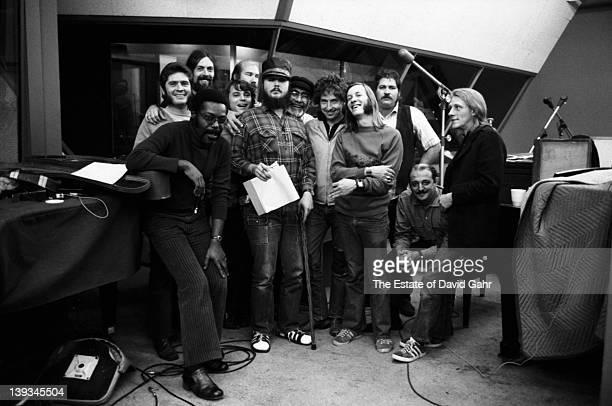 Musicians David 'Fathead' Newman Jack Barber Augie Meyers Memphis Horn trumpeter Wayne Jackson George Rains Dr John Jerry Wexler Bob Dylan Doug Sahm...