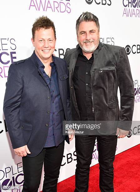 Musicians Dean Sams and Michael Britt attend the People's Choice Awards 2017 at Microsoft Theater on January 18 2017 in Los Angeles California