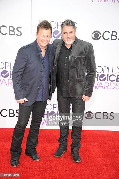 Musicians Dean Sams and Michael Britt of 'Lonestar' attend the People's Choice Awards 2017 at Microsoft Theater on January 18 2017 in Los Angeles...