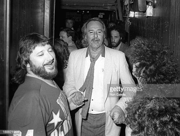 Musicians Denny Doherty and John Phillips actress Mackenzie Phillips and actor Spanky McFarland attend The Mama's and Papa's Performance on April 14...