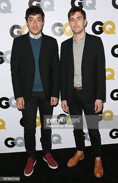 Musicians Ed Droste and Chad McPhail attend the GQ Men Of The Year Party at The Ebell Club of Los Angeles on November 12 2013 in Los Angeles...
