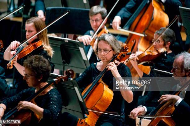 Musicians from The London Symphony Orchestra are conducted by Simon Rattle playing a programme by Helen Grime Thomas Ades Harrison Birtwistle Oliver...