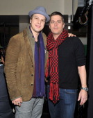 Musicians Gavin DeGraw and Rob Thomas attend 'PLJ's 20th Annual Scott Todd's Live broadcast/auction at Blythedale Children's Hospital on December 21...