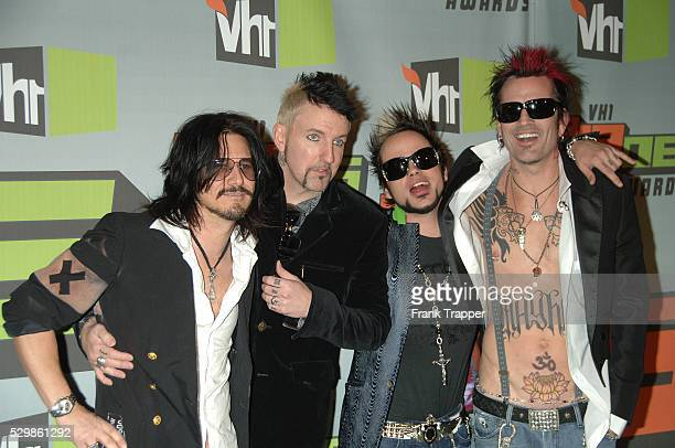 Musicians Gilby Clarke Jason Newsted Lukas Rossi and Tommy Lee arrive at 'VH1 Big In '06 Awards' held at Sony Studios