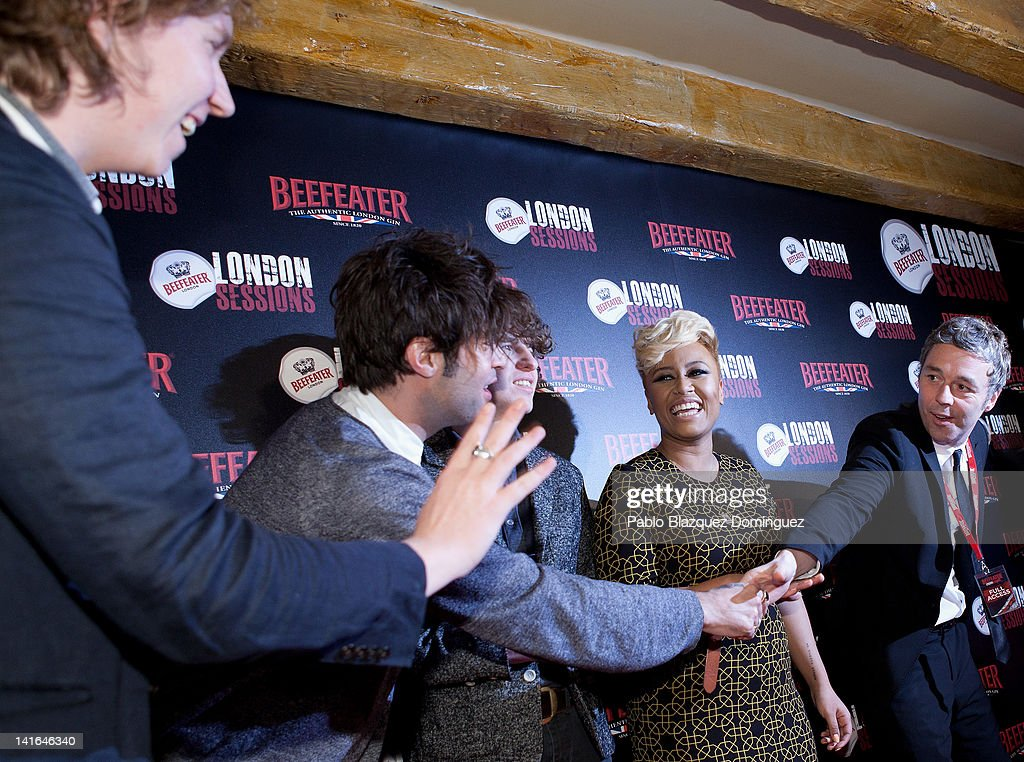 Beefeater London Sessions in Madrid - Photocall