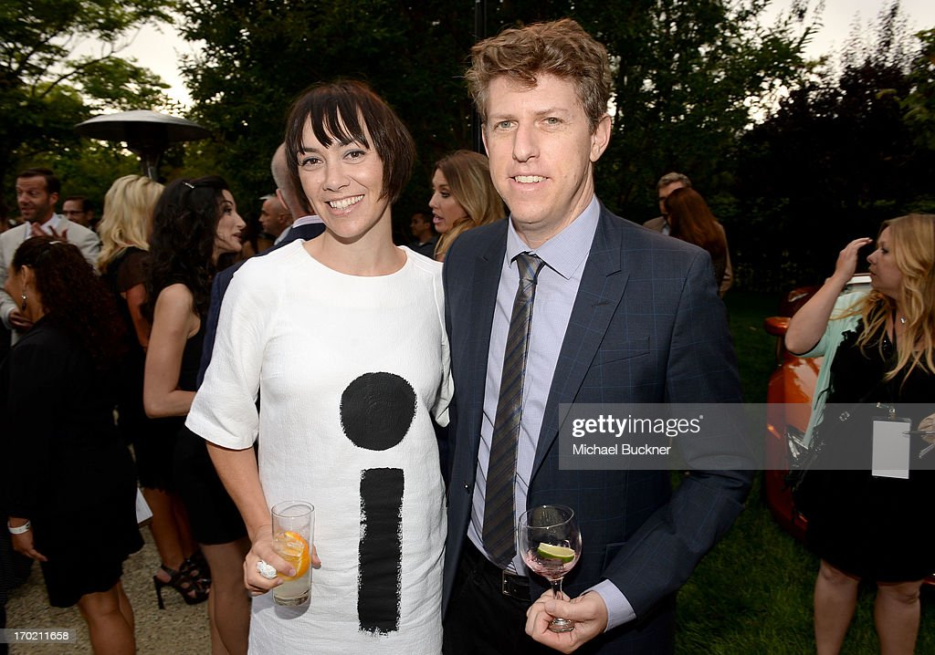 Musicians Inara George and Greg Kurstin of The Bird and the Bee attend the 12th Annual Chrysalis Butterfly Ball on June 8, 2013 in Los Angeles, California.