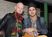 Musicians Isaac Slade and Joe King of the band The Fray attend 'PLJ's 20th Annual Scott Todd's Live broadcast/auction at Blythedale Children's...