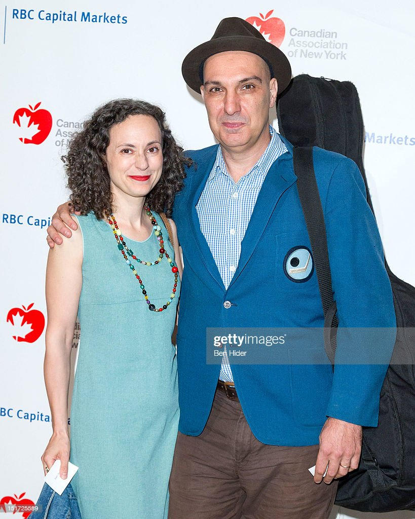 Musicians Janet Morassutti and Dave Bidini attend the Canadian Association Of New York's 33rd Annual Hockey Achievement Award Honoring Wayne Gretzky at Cipriani 42nd Street on September 10, 2012 in New York City.