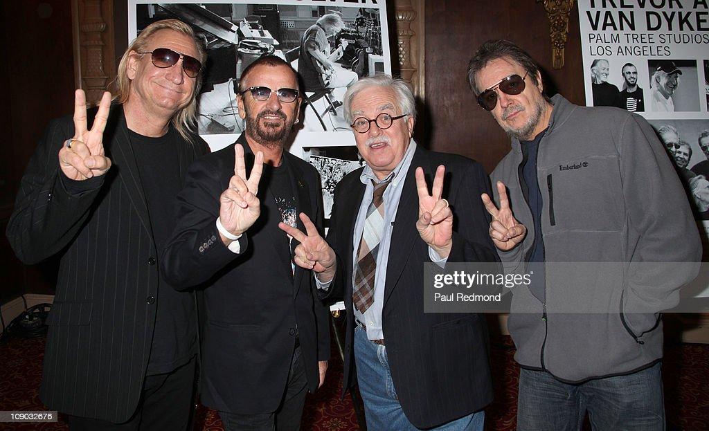 "GRAMMY-Nominatied Artist Klaus Voorman With Debut Of Original Beatles ""Revolver"" Cover Artwork Display"
