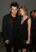 Musicians John Mayer and Taylor Swift attend the launch of VEVO the world's premiere destination for premium music video and entertainment at...