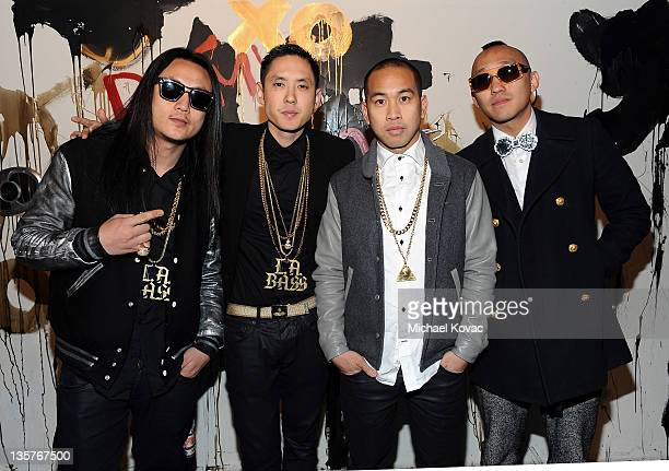 Musicians JSplif Kev Nish DJ Virman and musician Prohgress of music group Far East Movement join with Remy Martin XO to present Dirty Bass Museum on...