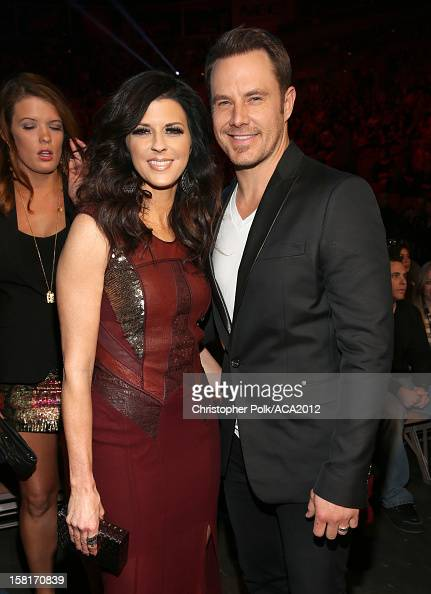 Musicians Karen Fairchild and Jimi Westbrook of Little Big Town attend the 2012 American Country Awards at the Mandalay Bay Events Center on December...
