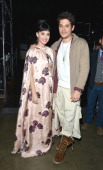 Musicians Katy Perry and John Mayer attend 'The Night That Changed America A GRAMMY Salute To The Beatles' at the Los Angeles Convention Center on...