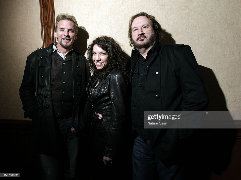 Musicians <a gi-track='captionPersonalityLinkClicked' href=/galleries/search?phrase=Kenny+Loggins&family=editorial&specificpeople=640646 ng-click='$event.stopPropagation()'>Kenny Loggins</a>, Georgia Middleman and Gary Burr attend ASCAP Music Cafe Day 1 at Sundance ASCAP Music Cafe during the 2013 Sundance Film Festival on January 18, 2013 in Park City, Utah.