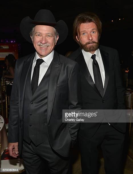 Musicians Kix Brooks and Ronnie Dunn of Brooks Dunn attend Muhammad Ali's Celebrity Fight Night XXII at the JW Marriott Phoenix Desert Ridge Resort...