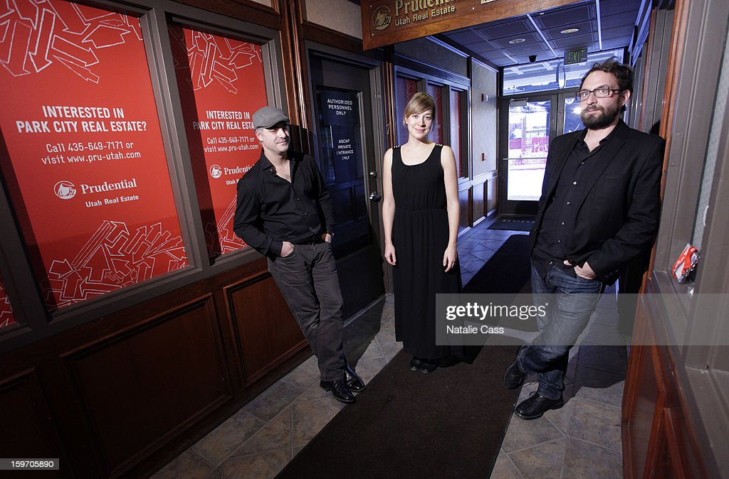 Musicians Les Cooper, Jill Barber and Robbie Greenwald attend ASCAP Music Cafe Day 1 at Sundance ASCAP Music Cafe during the 2013 Sundance Film Festival on January 18, 2013 in Park City, Utah.