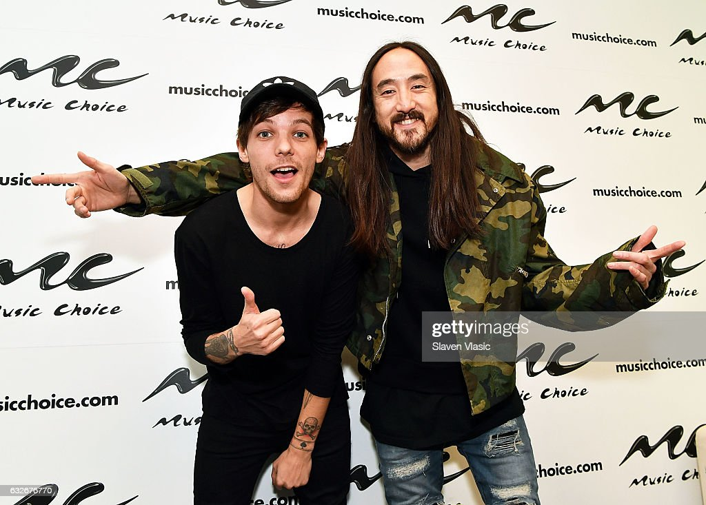 Steve Aoki & Louie Tomilson Visit Music Choice