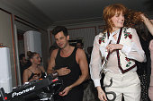Musicians Mark Ronson and Florence Welch attend the Absolut Elyx Hosts Mark Ronson's Grammy's Afterparty at Elyx House Los Angeles on February 15...