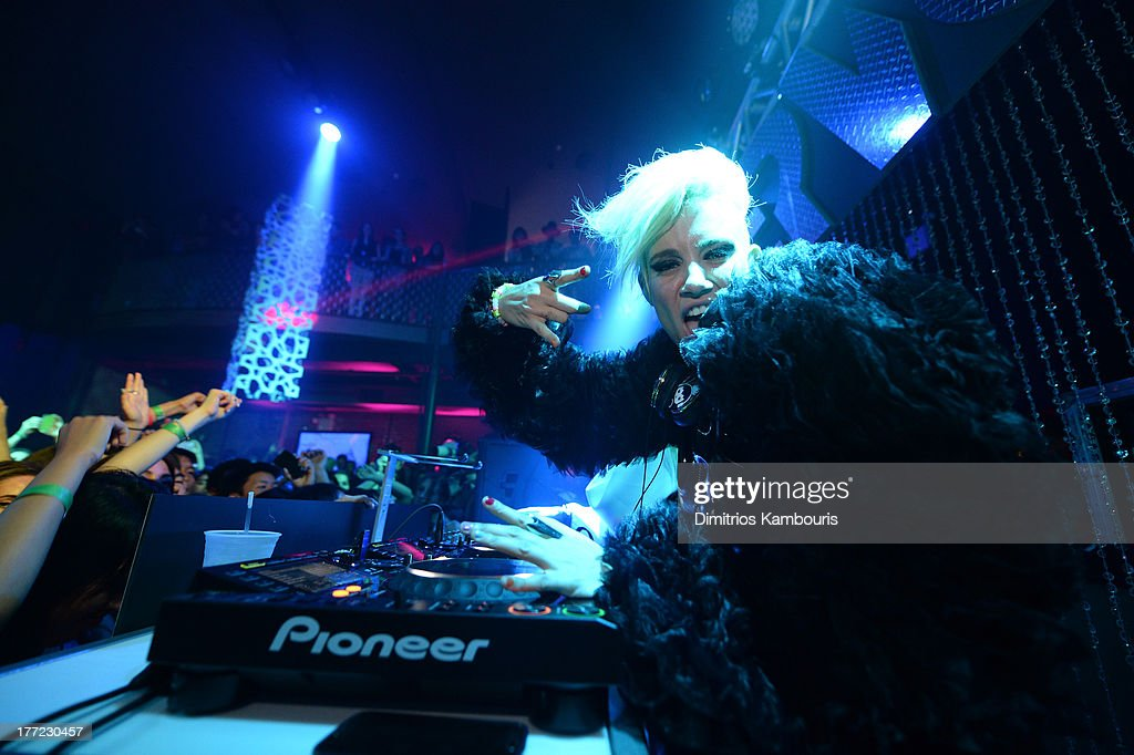 Musicians Miriam Nervo and Olivia Nervo (pictured) perform at Easy, Breezy, Brooklyn hosted by Becky G and presented by MTV and COVERGIRL at Music Hall of Williamsburg on August 22, 2013 in the Brooklyn borough of New York City.