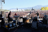 Musicians Nathan Willett Dann Gallucci and Matt Maust of Cold War Kids perform onstage during day 3 of the 2016 Coachella Valley Music And Arts...