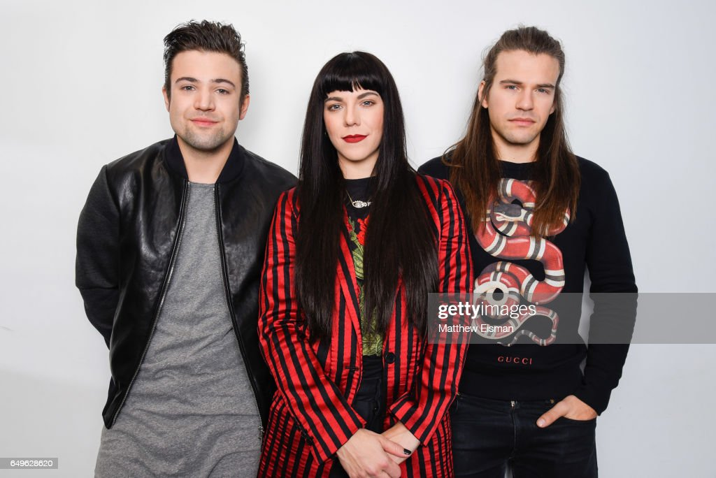 Musicians Neil Perry, Kimberly Perry and Reid Perry of The Band Perry visit at SiriusXM Studios on March 8, 2017 in New York City.