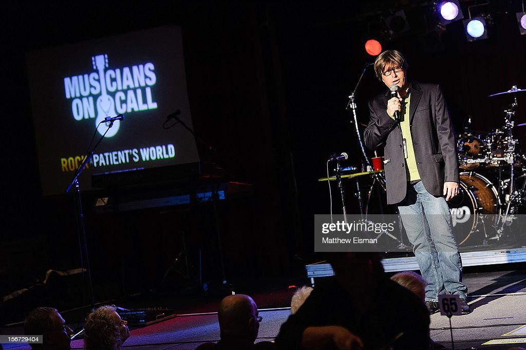 Musicians On Call Founder Michael Solomon attends the 2012 Musicians On Call benefit concert featuring the rock band Chicago at B.B. King Blues Club & Grill on November 19, 2012 in New York City.