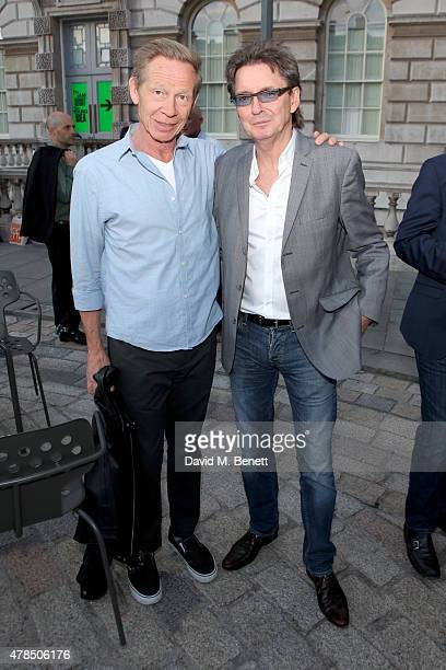 Musicians Paul Cook of the Sex Pistol and Bruce Foxton of The Jam attend the private view of The Jam About the Young Idea at Somerset House in London...