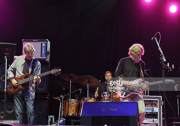 Musicians Phil Lesh and Bob Weir of Furthur and The Grateful Dead perform during the 2010 Outside Lands Music Festival at Golden Gate Park on August...