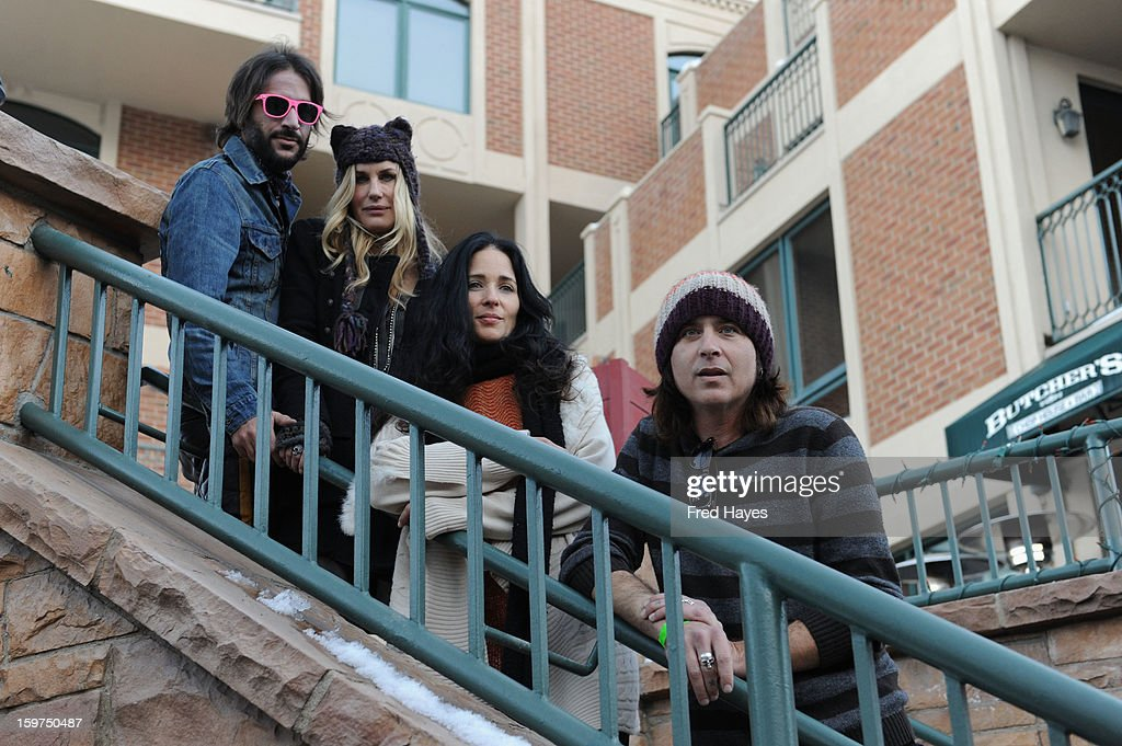 Musicians <a gi-track='captionPersonalityLinkClicked' href=/galleries/search?phrase=Rami+Jaffee&family=editorial&specificpeople=234780 ng-click='$event.stopPropagation()'>Rami Jaffee</a>, <a gi-track='captionPersonalityLinkClicked' href=/galleries/search?phrase=Daryl+Hannah&family=editorial&specificpeople=201860 ng-click='$event.stopPropagation()'>Daryl Hannah</a>, Jessy Greene and Jonny Kaplan attend Day 2 of ASCAP Music Cafe at Sundance ASCAP Music Cafe during the 2013 Sundance Film Festival on January 19, 2013 in Park City, Utah.
