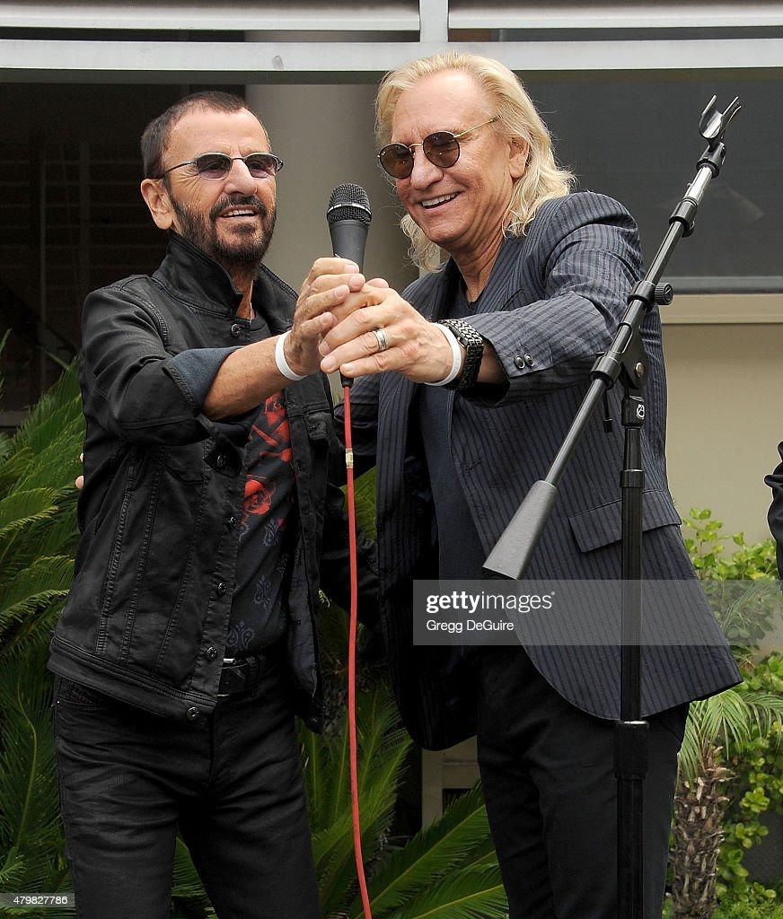 Ringo Starr's Birthday Fan Gathering
