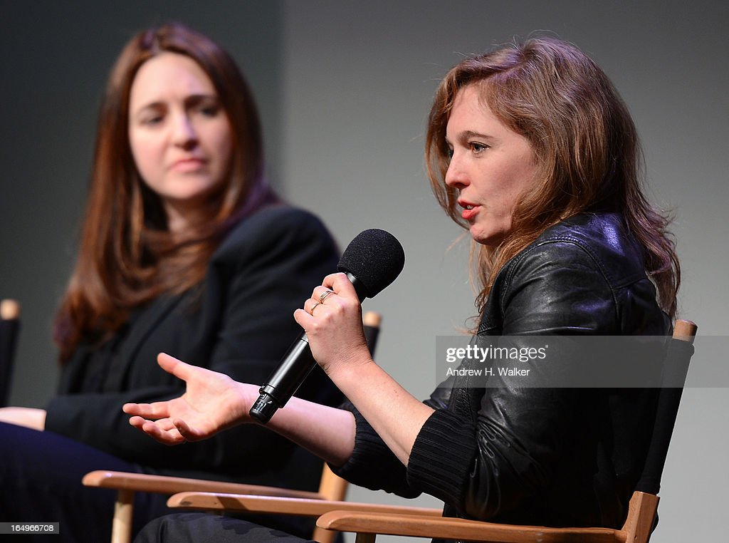 Musicians Simone Dinnerstein and Tift Merritt attend Meet the Musicians at the Apple Store Soho on March 29, 2013 in New York City.