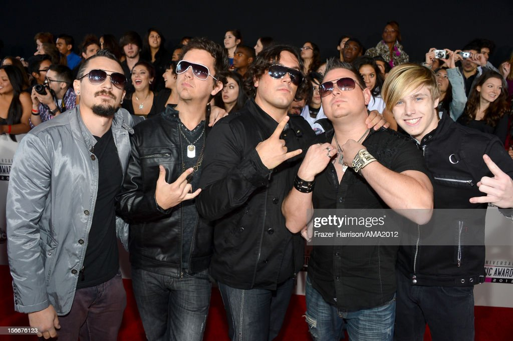 Musicians The Farthest Edge attend the 40th American Music Awards held at Nokia Theatre L.A. Live on November 18, 2012 in Los Angeles, California.