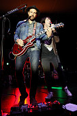 Musicians Tim G Lopez and Tom Higgenson of Plain White T's perform at the Grove Summer Concert Series held at The Grove on July 6 2016 in Los Angeles...