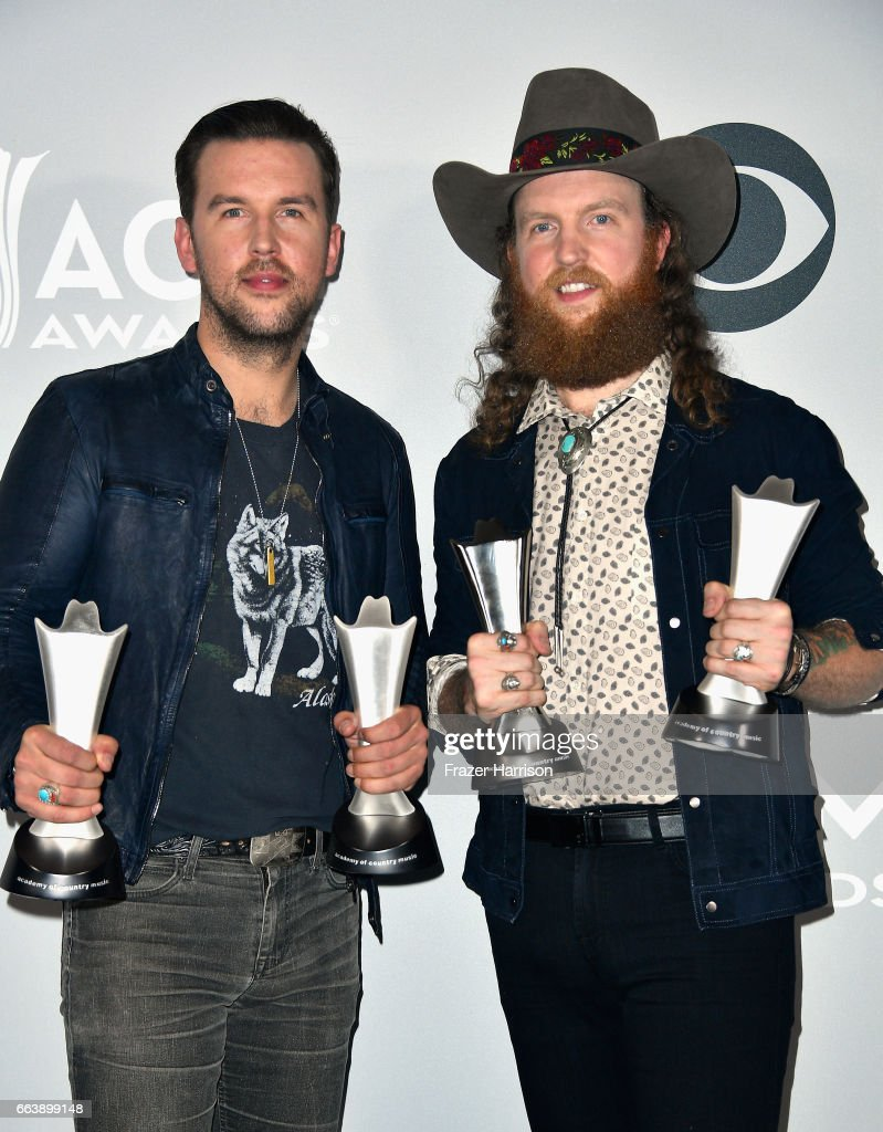 52nd Academy Of Country Music Awards - Press Room