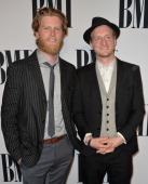 Musicians Wesley Schultz and Jeremiah Caleb Fraites of The Lumineers attend the 62nd annual BMI Pop Awards at the Regent Beverly Wilshire Hotel on...