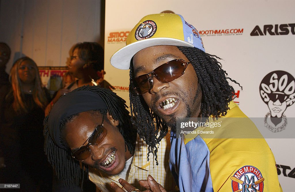 Musicians Ying Yang Twins arrive at the Smooth Pre-BET party at Club A.D. on June 23, 2003 in Los Angeles, California.