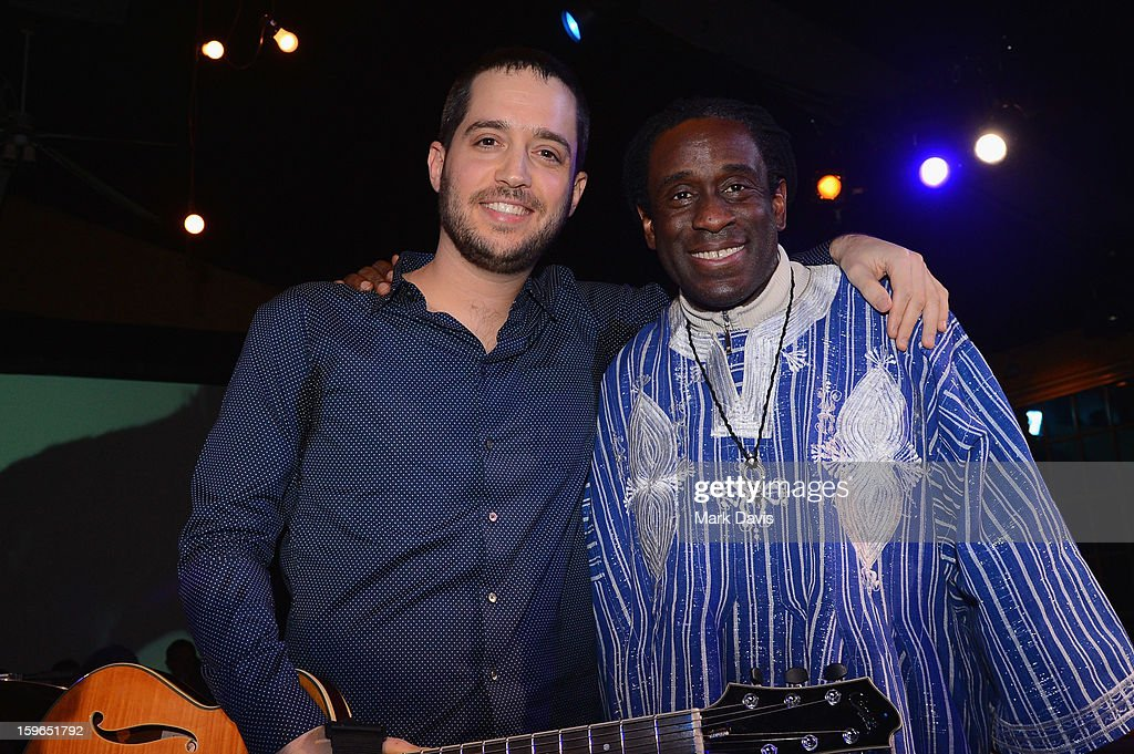 Musicians Yotam Silberstein and Will Calhoun attend An Artist At The Table, a benefit for the Sundance Institute during the 2013 Sundance Film Festival at The Shop on January 17, 2013 in Park City, Utah.